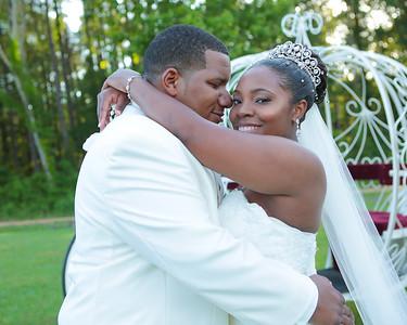 Shanyika & Zachary Wedding Day