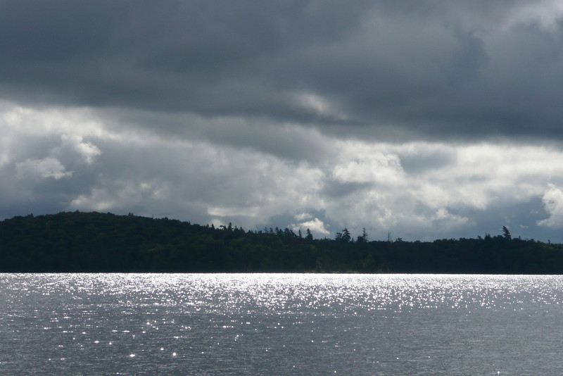 Cloudy Morning. Lac Jean-Peré, La Vérendrye Wildlife Reserve