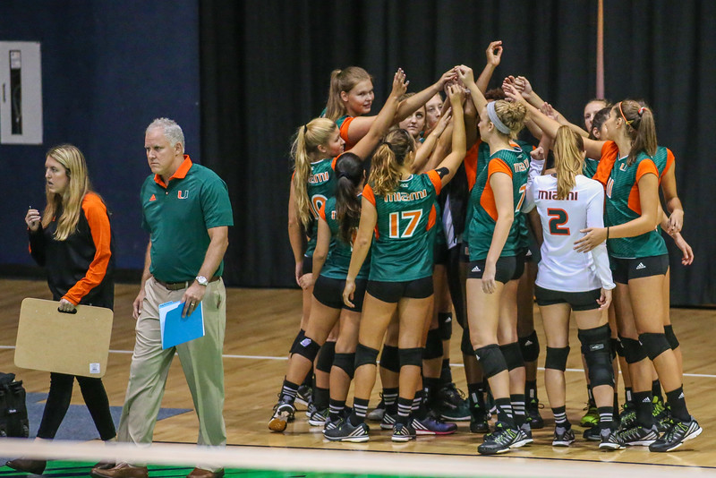 University of Miami Volleyball vs. FIU, 2016
