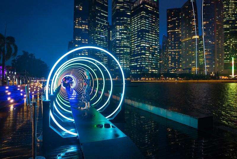 Midnight Loop Around Singapore