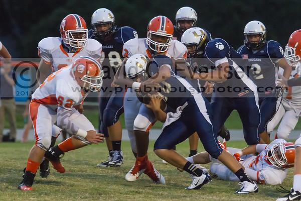 Boone Junior Varsity Football #62 - 2013