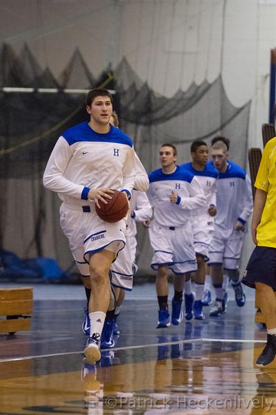 2012-12-19 Hillsdale College Men's Basketball vs. U‐M Dearborn