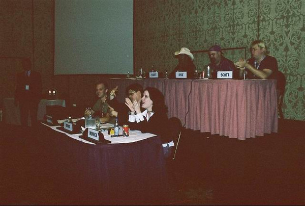 Monica Rial, Bruce Lewis, Christopher Patton, Scott McNeil, Kyle Hebert