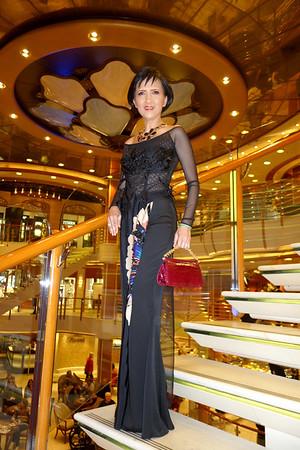 Grand Asia Cruise Oct 24, 2014 - Nov 10, 2014,  Sapphire Princess - At Sea, Second Formal Night, At Sea