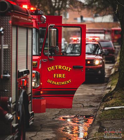 Detroit MI, House Fire 3-19-2020