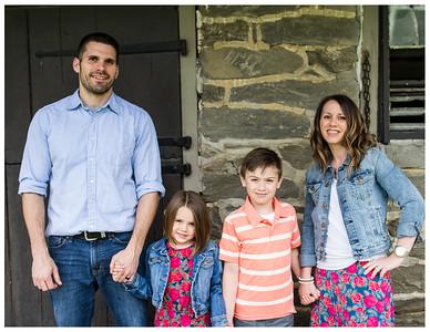 Becker family spring mini session