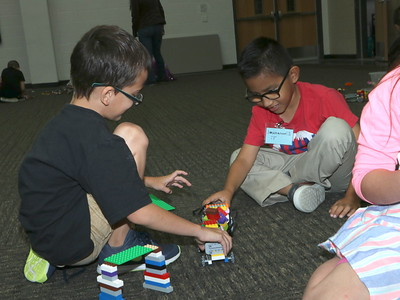 Lego-Inspired Engineering Camp