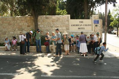 Tiyul Old City Muslim Quarter, Sukkot 2009