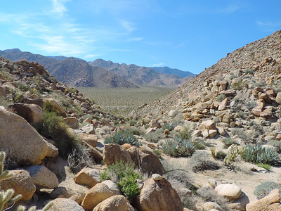 Moonlight Canyon and Inner Pasture 02-04-2015