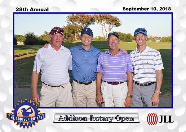 Addison Rotary Golf Tournament 2018