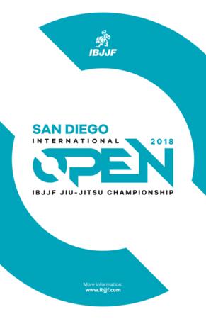 2018 IBJJF San Diego Open
