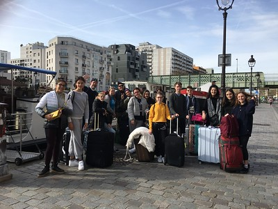 ND Students go to France 2018