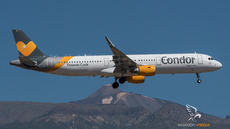 Condor / Airbus A321-211(WL) / D-AIAF