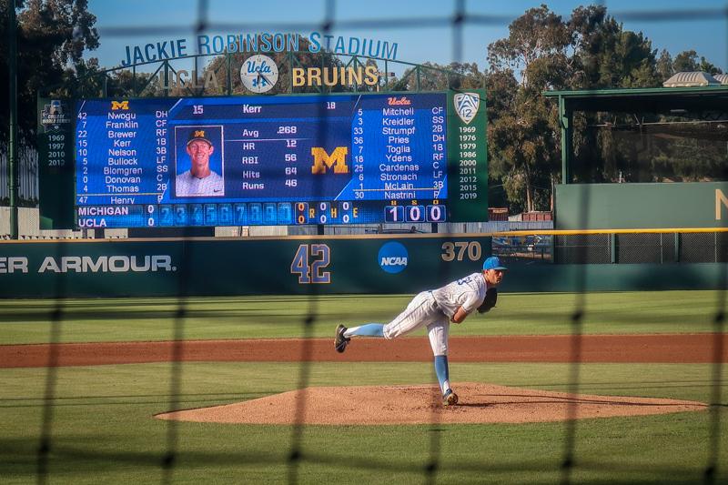 June 9 -  A night to forget-UCLA baseball team loses Super Regional match--boo hoo -(.jpg