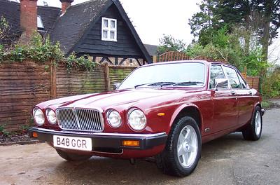 B48 GGR Jaguar Sovereign XJ6 1984