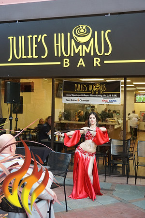 102518 SR Ribbon Cutting @ Julie's Hummus