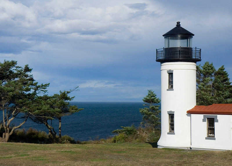 Lighthouse at Admirality Head, Washington