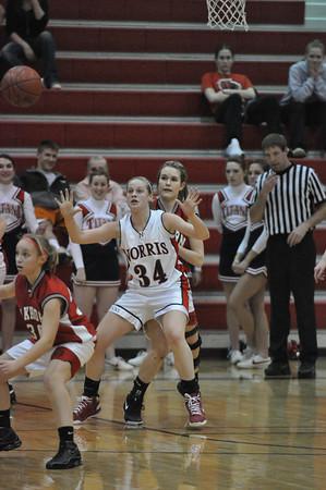 JV Girls Baskeball vs Elkhorn 2/5/09