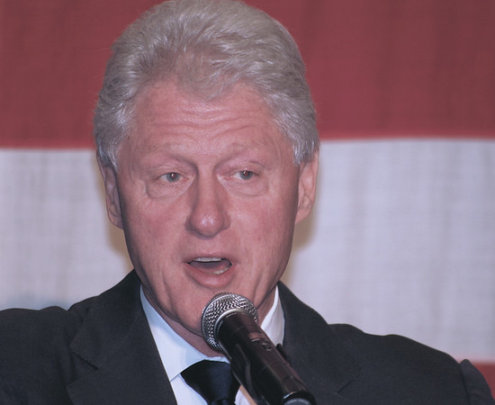 President Clinton in Collingswood for Corzine