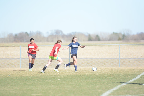Girls Soccer Scrimmage