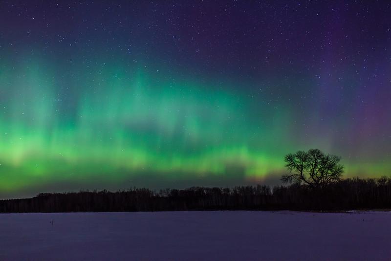 St. Patricks Day Aurora Borealis II
