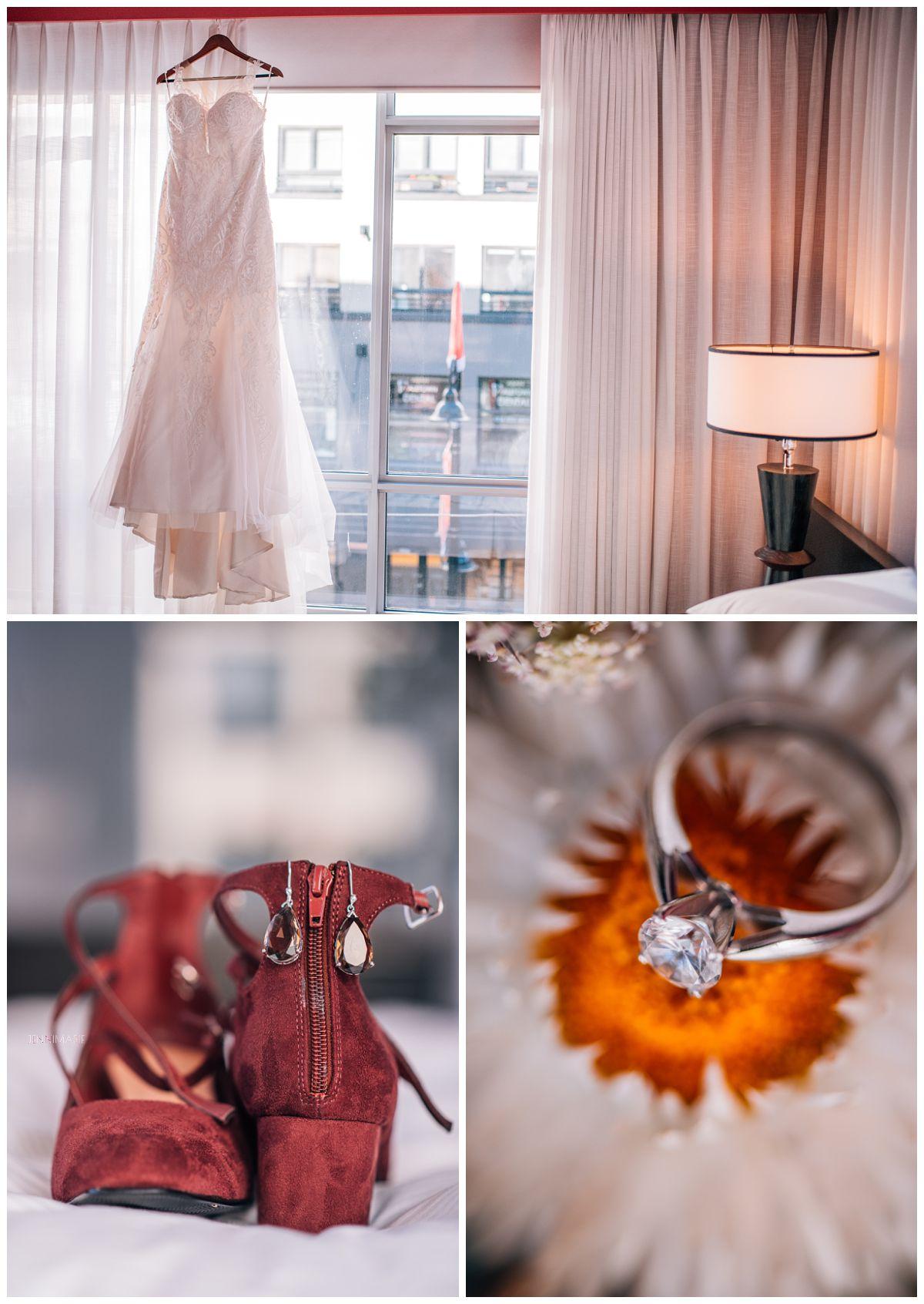 Opus Hotel bridal suite