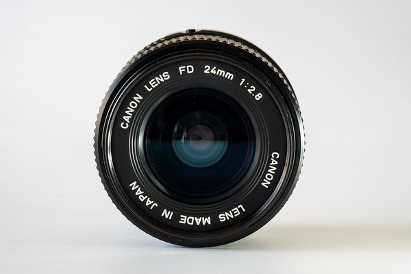 Canon new FD 24mm f/2.8