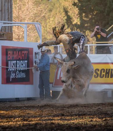 Wednesday Extreme Bulls Rodeo Night