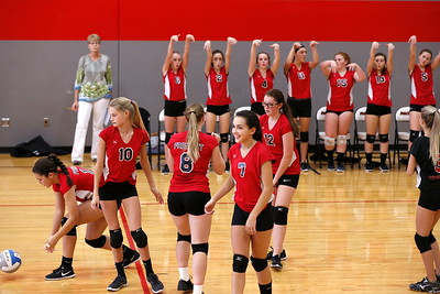 Girls Freshman Volleyball - 10/4/2017 Newaygo
