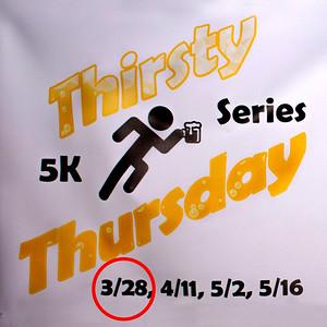 Thirsty Thursday 5K #1 - 2019 Race Photos