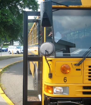 School bus in Newington
