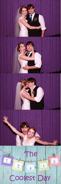 Heather and Ricky's Photo Booth Pics
