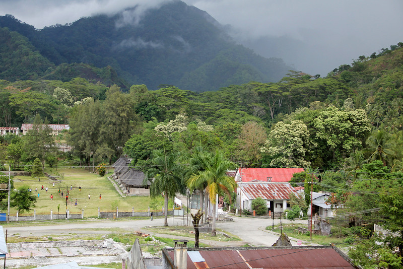 rainy season has begun in timor and is now in full swing