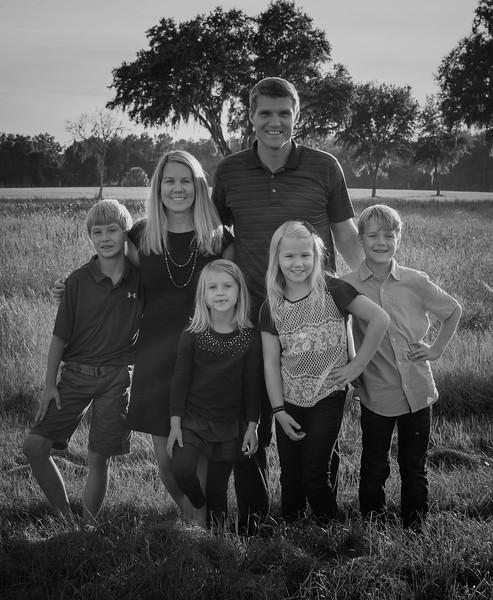 Hunt family B&W.jpg