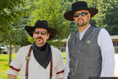 Mounted Cowboy Shooting Match