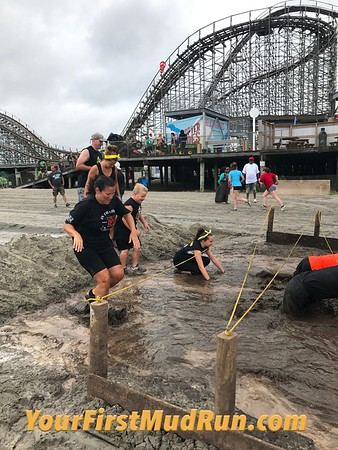 Pictures: 2017 Your First Mud Run Wildwood, NJ 7/29/2017
