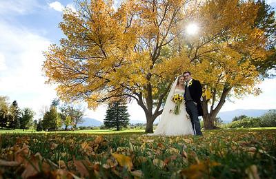 Wedding album: Amanda and Brett at Monument Valley Park in Colorado Springs