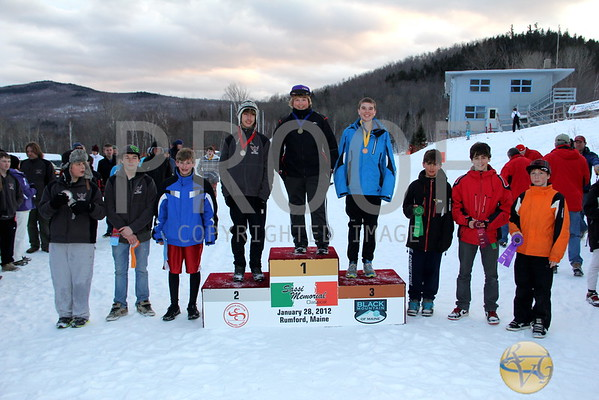 ME Jr. Ski League A Championships - Podium Pics