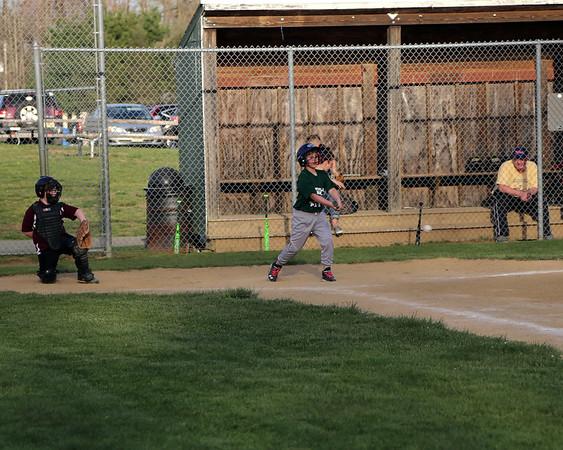 4-18-16 Jack's First Baseball game