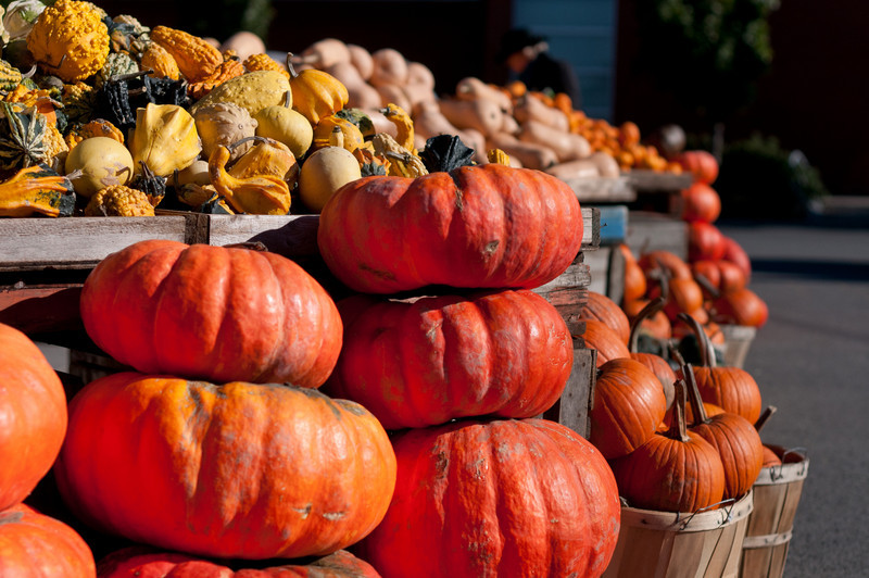 Fresh produce in a market in Ottawa, Ontario, Canada