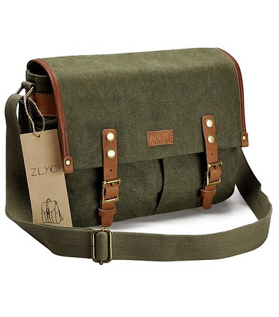 Gifts for Photographers - Vintage Style Canvas Camera Shoulder Bag