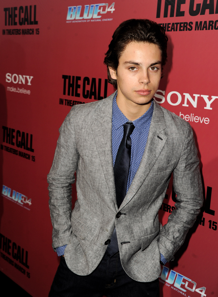 """. Actor Jake T. Austin arrives at the premiere of Tri Star Pictures\' \""""The Call\"""" at the Arclight Theatre on March 5, 2013 in Los Angeles, California.  (Photo by Kevin Winter/Getty Images)"""