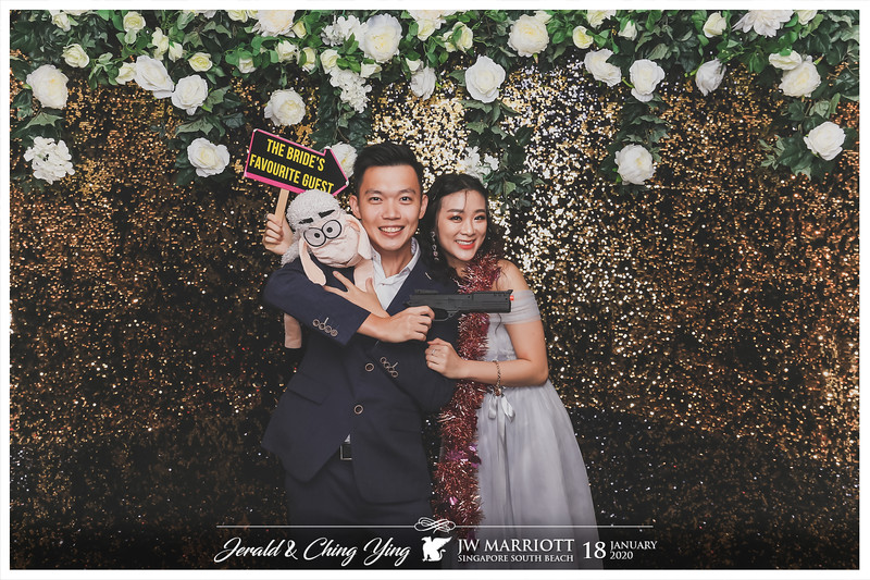 Wedding of Jerald & Ching Ying | © www.SRSLYPhotobooth.sg