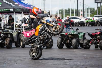 6-28-14 Edwards Motor Stunt exhibition