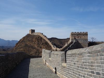 Gubeikou Jinshanling  Simatai Great wall trekking
