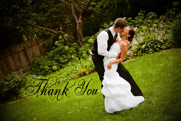 Mark and Louisa -- Thank Yous
