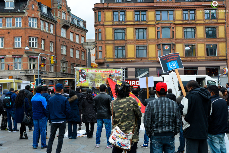 Tamils Peaceful Protest in City Square.jpg