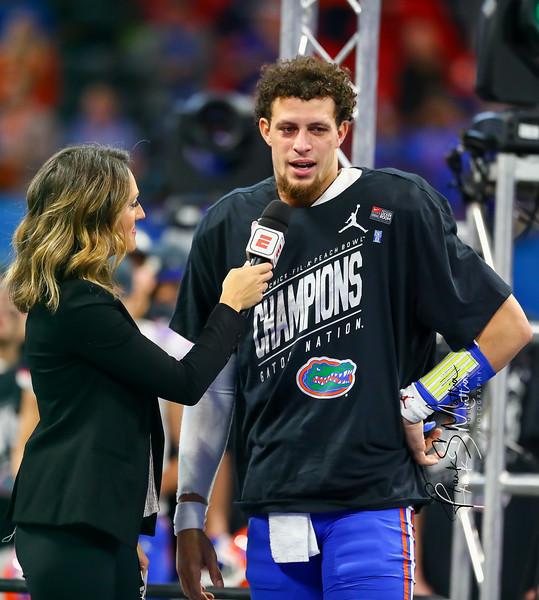 NCAA Football 2018: Chick-fil-A Peach Bowl-Florida defeats Michigan 41 - 15