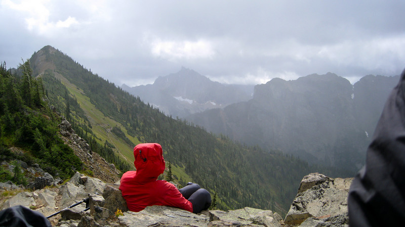 Martina and Azurite Peak.