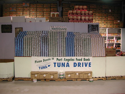 Port Angeles Food Bank Historical Pictures